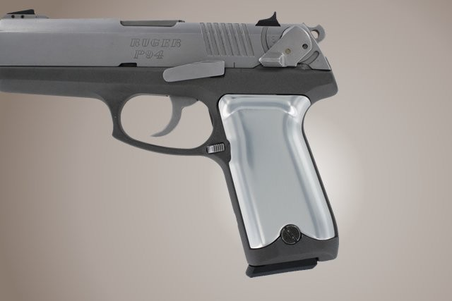 Ruger P94 Aluminum - Brushed Gloss Clear Anodize