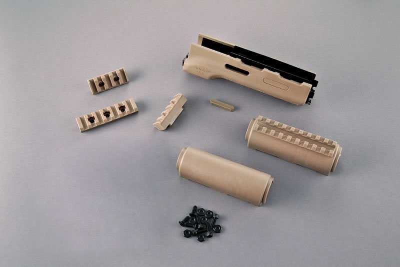 AK-47/AK-74 Standard Chinese and Russian - Forend with Flat Dark Earth Rubber Gripping area
