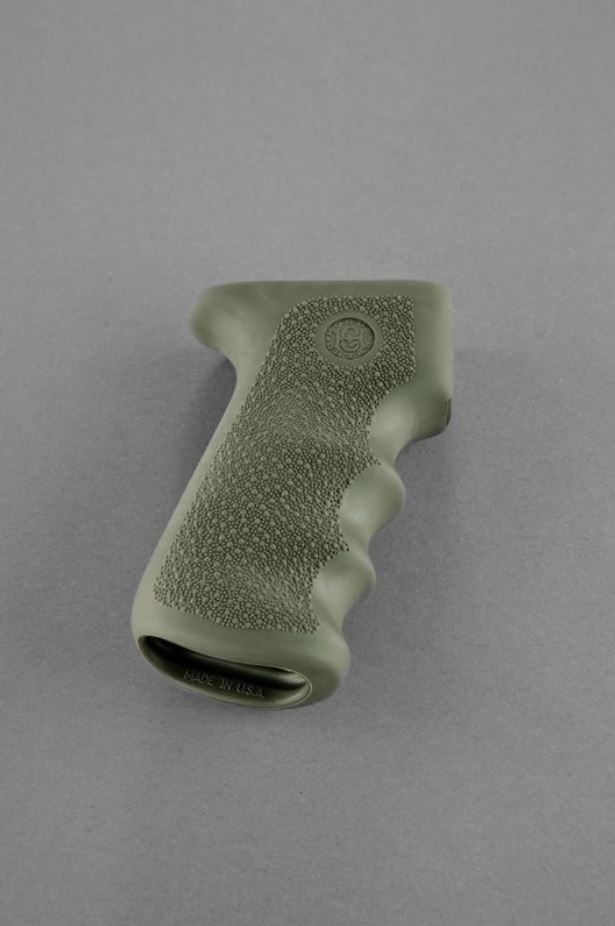 AK-47/AK-74 Rubber Grip with Finger Grooves OD Green