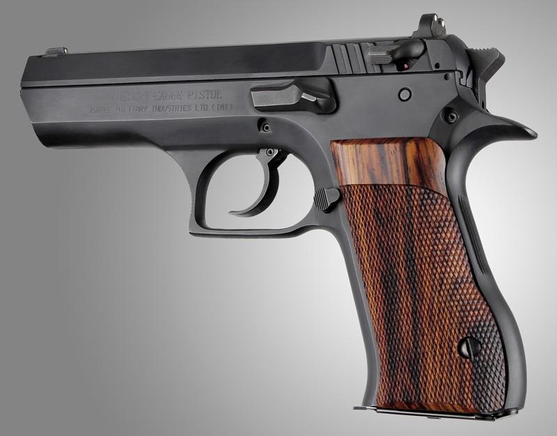 Baby Eagle  40 / 9mm, Jericho & Uzi Eagle P-9 Cocobolo Checkered