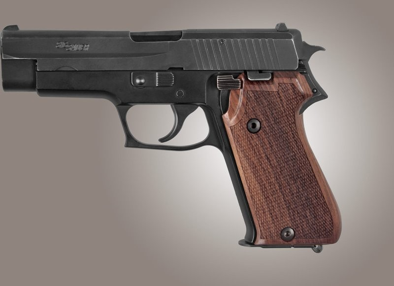 SIG Sauer P220 Rosewood European Model Checkered