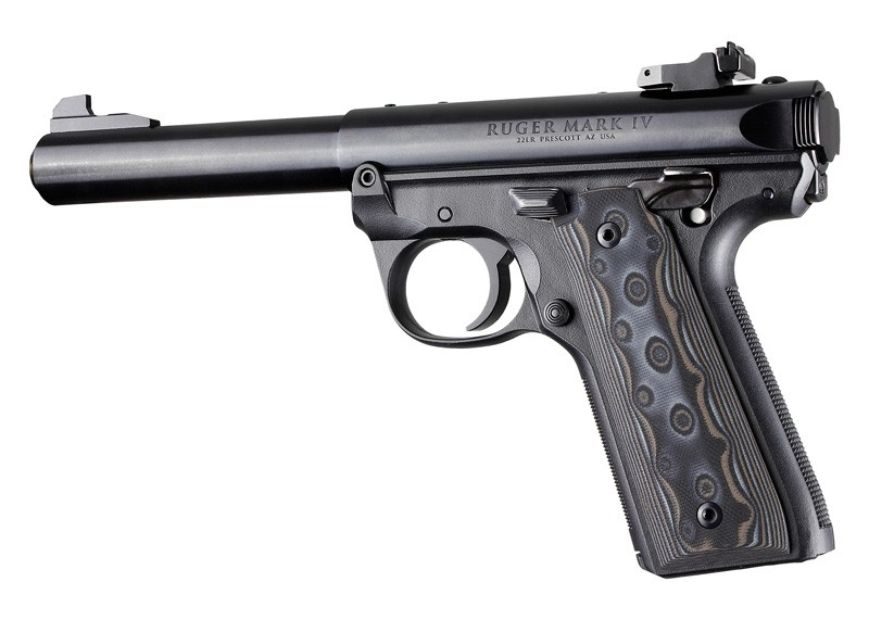 Ruger 22/45 MK IV - Smooth - G10 GMascus Black/Grey