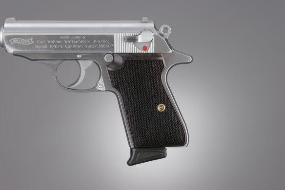 Walther PPK/S and PP Rosewood Checkered