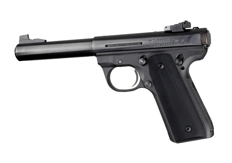 Ruger MK III 22/45 RP G10 - Solid Black