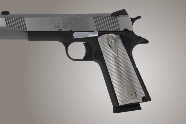1911 Govt. Model Titanium Checkered