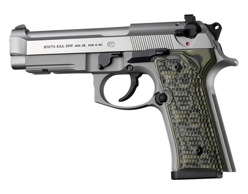 Beretta M9A3, Vertec Panels Piranha G10 - G-Mascus Green