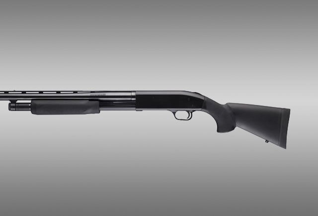 "Mossberg 500 12 Gauge OverMolded Shotgun Stock kit with forend - 12"" L.O.P."