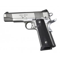 1911 Govt. G10 Magrip Kit - Piranha Grip Flat Mainspring Black