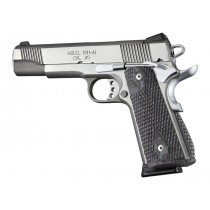 1911 Govt. G10 Magrip Kit - Piranha Grip Arched Mainspring Black/Gray G-Mascus