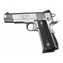 1911 Govt. G10 Magrip Kit - Piranha Grip Arched Mainspring Black
