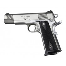 1911 Govt. G10 Magrip Kit - Checkered Flat Mainspring Black