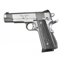 1911 Govt. G10 Magrip Kit - Smooth Arched Black/Gray G-Mascus