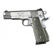 1911 Govt. G10 Magrip Kit - Smooth Arched Green G-Mascus