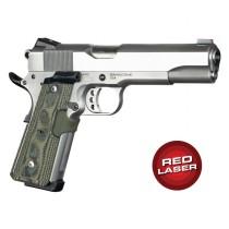 Red Laser Enhanced Magrip Kit for 1911 Govt. Model: Piranha G10 - G-Mascus Green Lava