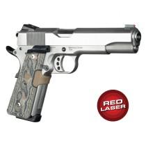 Red Laser Enhanced Magrip Kit for 1911 Govt. Model: Piranha G10 - G-Mascus Dark Earth