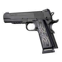 1911 Govt. Model 9/32 Thick Tribal Aluminum - Black Anodized