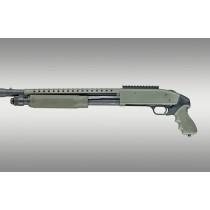 Mossberg 500 12 Gauge OverMolded Tamer Shotgun Pistol Grip and forend OD Green