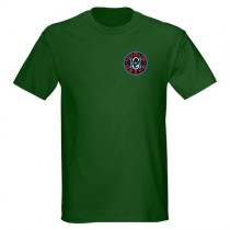 Hogue Grips T-Shirt XX-Large Forest Green