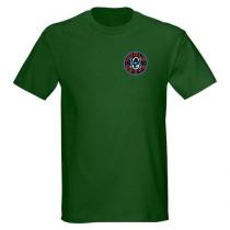 Hogue Grips T-Shirt XXX-Large Forest Green