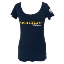 Hogue Knives Womens Scoop Tee Small