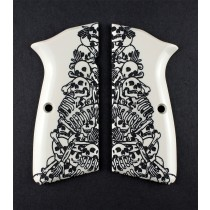 Browning Hi-Power Engraved Ivory Polymer - Boneyard