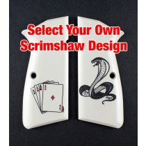 Browning Hi Power - Select Your Own Scrimshaw Design