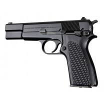 Browning Hi-Power Piranha Grip G10 - Solid Black