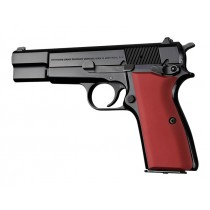 Browning Hi-Power Aluminum - Matte Red Anodized