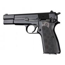 Browning Hi-Power Checkered G10 - G-Mascus Black/Gray