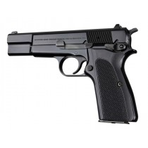 Browning Hi-Power Checkered G10 - Black