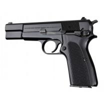 Browning Hi-Power Checkered G10 - Black