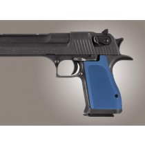 Desert Eagle Checkered Aluminum - Blue Anodized