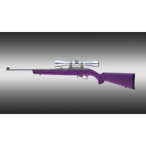 Ruger 10-22 Standard Barrel Purple Rubber OverMolded Stock