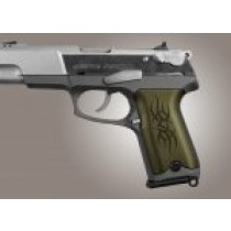 Ruger P85 - P91 Tribal Aluminum - Green Anodize