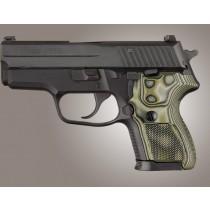 SIG Sauer P224 DA/SA Checkered G10 - G-Mascus Green