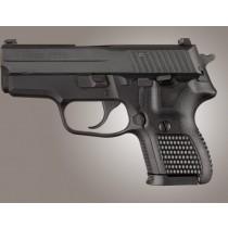 SIG Sauer P224 DA/SA Piranha Grip G10 - Solid Black