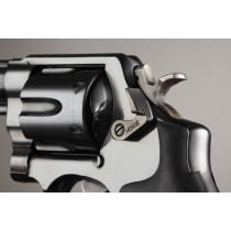 S&W Short Cylinder Release Stainless Steel Blued