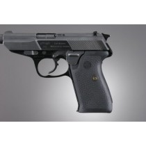 Walther P5: OverMolded Rubber Grip Panels - Black