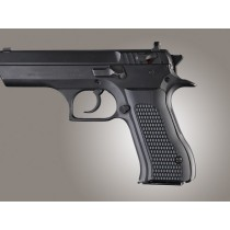Baby Eagle .40 / 9mm Jericho & Uzi Eagle Piranha Grip G10 - Solid Black
