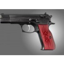 TZ-75 - EAA. P9 Tribal Aluminum - Red Anodized