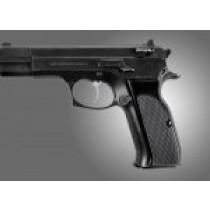 TZ-75 - EAA. P9 Checkered Aluminum - Brushed Gloss Black Anodize