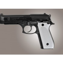 Taurus PT-99 PT-92 PT-100 PT-101 Safety Only Checkered Aluminum - Matte Clear Anodize