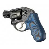 Ruger LCR/LCRx: Blue Lava Smooth G-Mascus G10 Grip