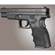Springfield XD 9MM, 40S&W, 357SIG: HandALL Hybrid Grip Sleeve - Black