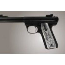 Ruger MK III 22/45 RP Flames Aluminum - Clear Anodize