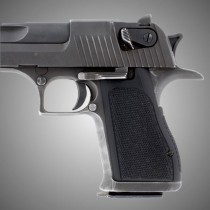 Desert Eagle Checkered  - Black G10