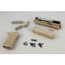 AK-47/AK-74 (Longer Yugo Version) Kit OM Grip and Forend Flat Dark Earth