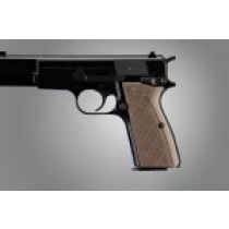 Browning Hi-Power Checkered G-10 - G-Mascus Tan