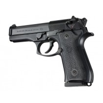 Beretta 92/96 series Rubber Grip Panels Black
