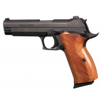 SIG P210 American: Smooth Hardwood Grip - Pau Ferro